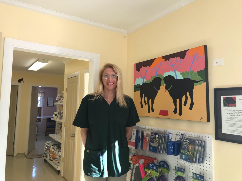 Veterinary and Rehabilitation Center of Cape Elizabeth - Veterinary Technician Greg Atwood